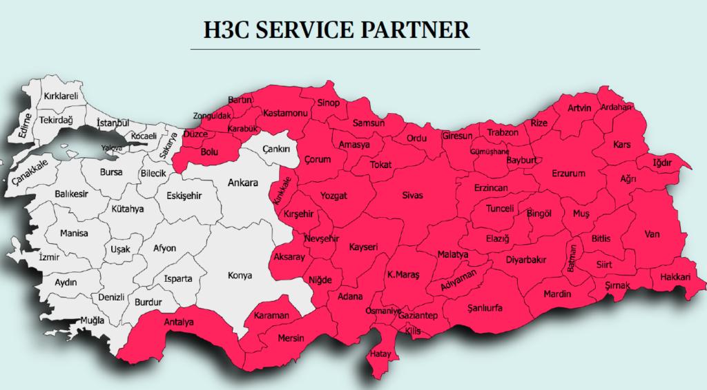h3c servis partner